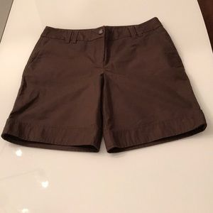 Ann Taylor shorts with button detail!